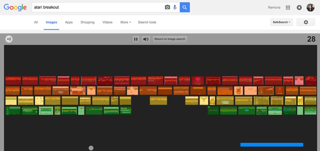 Google Images Atari Breakout